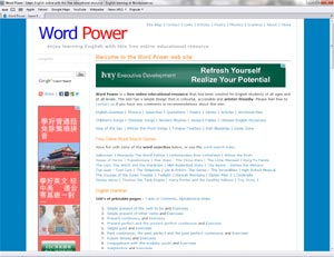 Word Power for Learning English